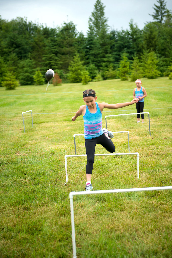 Obstacle course from an American Ninja Warrior Themed Birthday Party on Kara's Party Ideas | KarasPartyIdeas.com (18)