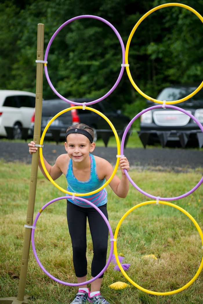 Obstacle course from an American Ninja Warrior Themed Birthday Party on Kara's Party Ideas | KarasPartyIdeas.com (13)