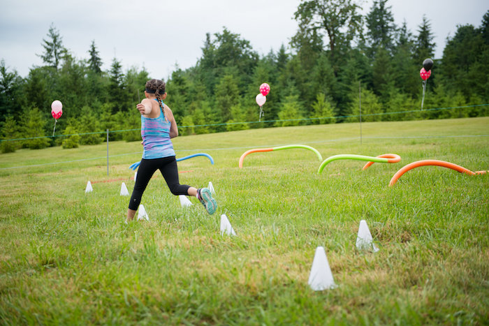 Obstacle course from an American Ninja Warrior Themed Birthday Party on Kara's Party Ideas | KarasPartyIdeas.com (10)
