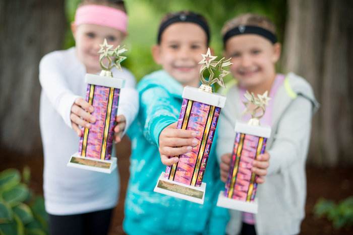 Trophies from an American Ninja Warrior Themed Birthday Party on Kara's Party Ideas | KarasPartyIdeas.com (8)