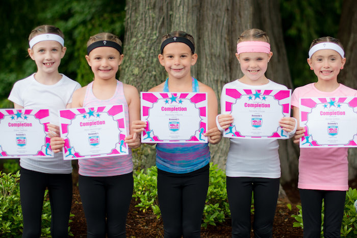 Certificates from an American Ninja Warrior Themed Birthday Party on Kara's Party Ideas | KarasPartyIdeas.com (7)