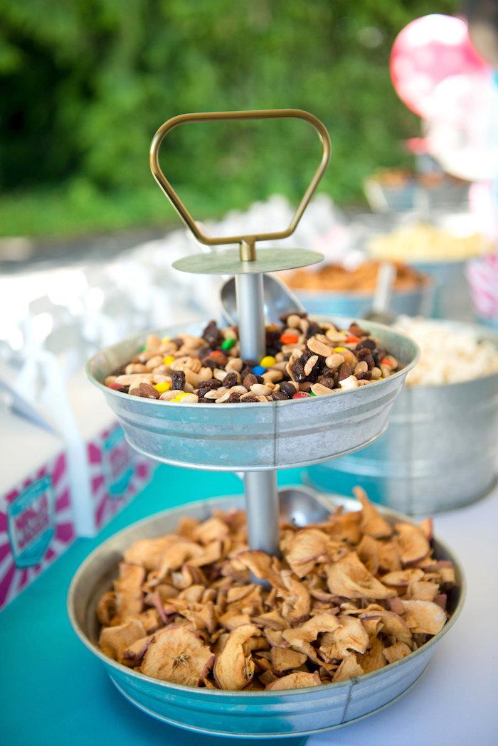 Power snacks from an American Ninja Warrior Themed Birthday Party on Kara's Party Ideas   KarasPartyIdeas.com (51)