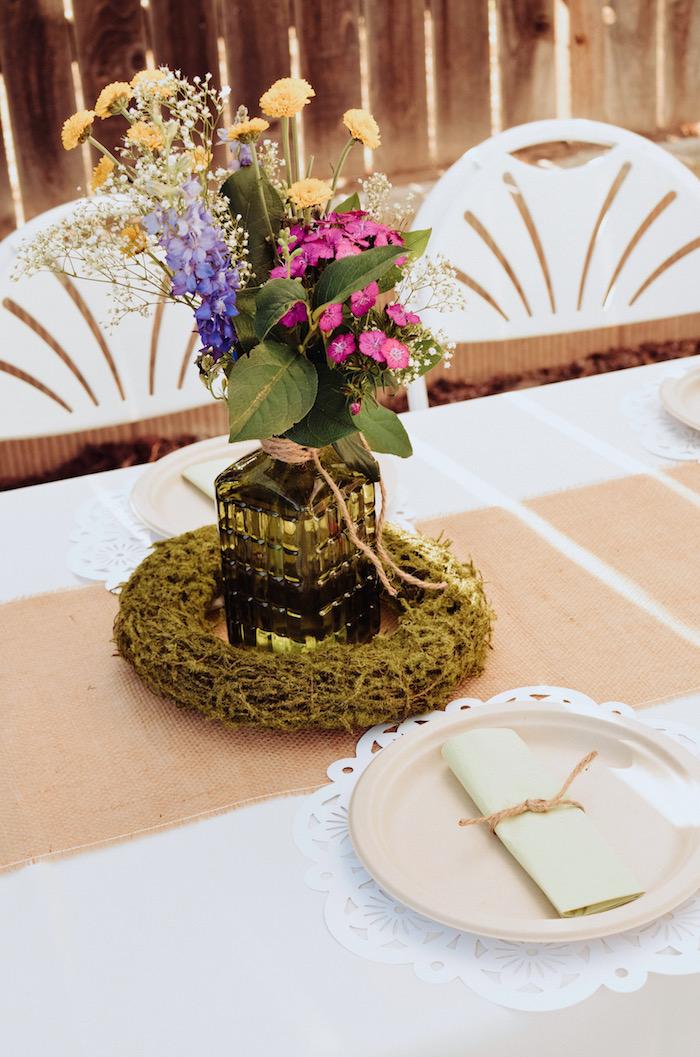 Kara39s party ideas backyard garden baptism kara39s party for Christening garden party ideas