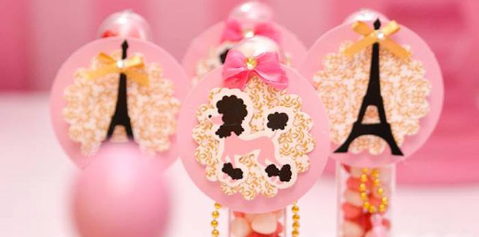 Ballerina in Paris Birthday Party on Kara's Party Ideas | KarasPartyIdeas.com (1)