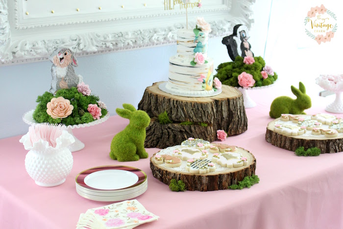Karas Party Ideas Bambi Inspired Birthday Party Karas