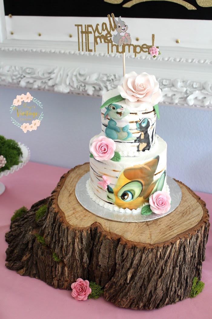Kara S Party Ideas Bambi Inspired Birthday Party Kara S