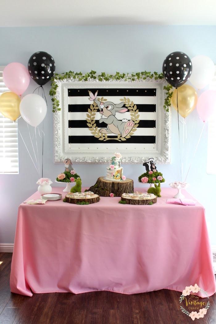 Bambi Inspired Birthday Party on Kara's Party Ideas   KarasPartyIdeas.com (24)