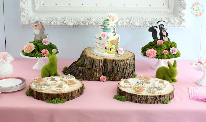 Kara's Party Ideas Bambi Inspired Birthday Party | Kara's