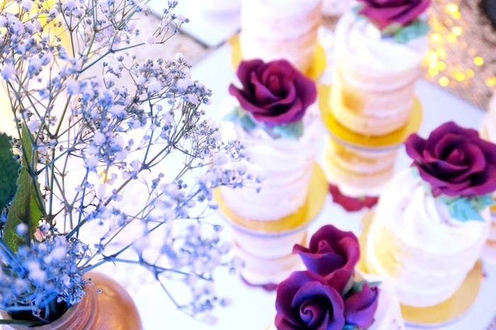 Beauty and the Beast Inspired Wedding Dessert Table on Kara's Party Ideas | KarasPartyIdeas.com (6)