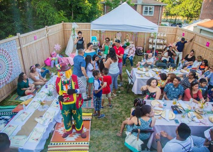 Party spread from a Bohemian Circus Birthday Party on Kara's Party Ideas | KarasPartyIdeas.com (7)