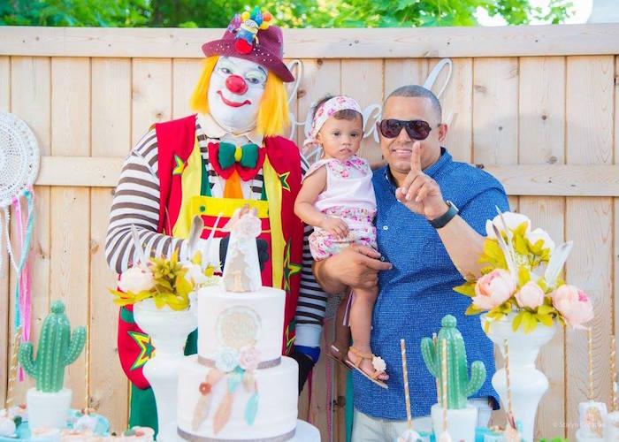 Bohemian Circus Birthday Party on Kara's Party Ideas | KarasPartyIdeas.com (24)