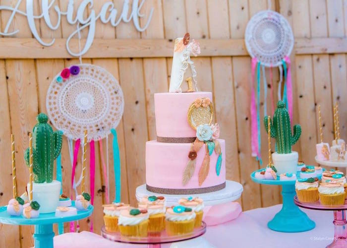 Bohemian Circus Birthday Party on Kara's Party Ideas | KarasPartyIdeas.com (4)
