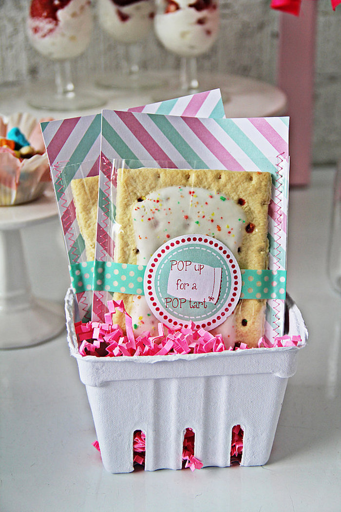 Pop Tarts from a Breakfast in Bed Sleepover Party on Kara's Party Ideas | KarasPartyIdeas.com (9)