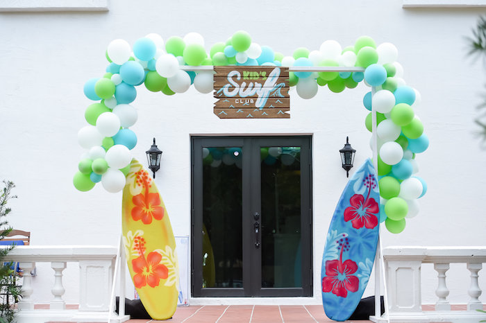 California Surf Birthday Party on Kara's Party Ideas | KarasPartyIdeas.com (3)