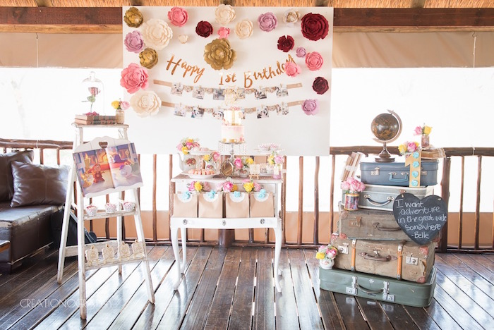 Chic Beauty and the Beast Birthday Party on Kara's Party Ideas | KarasPartyIdeas.com (26)