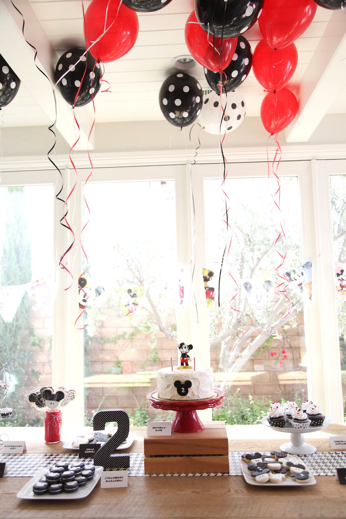 Classic Mickey Mouse Birthday Party on Kara's Party Ideas | KarasPartyIdeas.com (28)