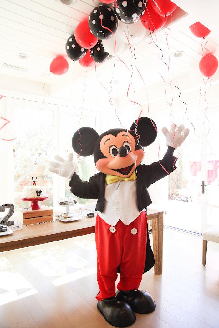 Kara S Party Ideas Classic Mickey Mouse Birthday Party