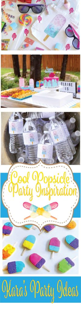 Cool Popsicle Party Ideas via Kara's Party Ideas