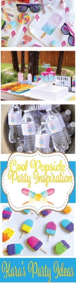 Cool Popsicle Party Ideas via Kara's Party Ideas