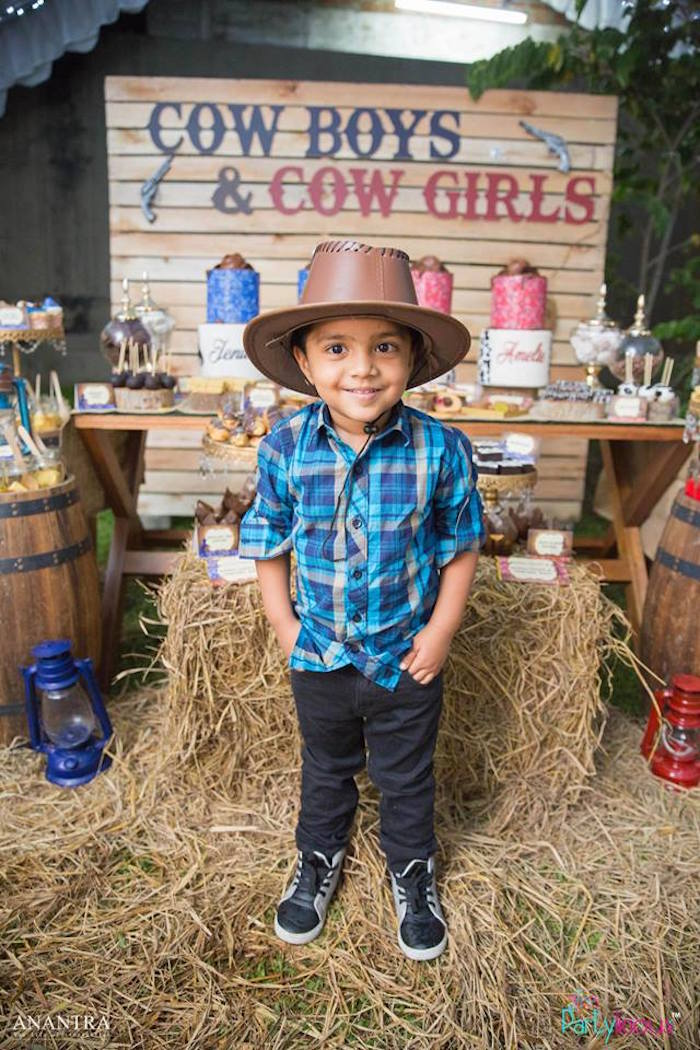 Cowboys & Cowgirls Joint Birthday Party on Kara's Party Ideas | KarasPartyIdeas.com (35)