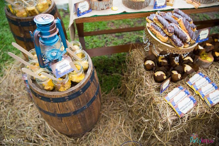 Cowboys & Cowgirls Joint Birthday Party on Kara's Party Ideas | KarasPartyIdeas.com (37)