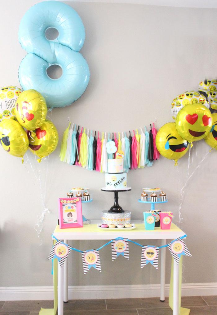 Emoji Birthday Party On Karas Ideas