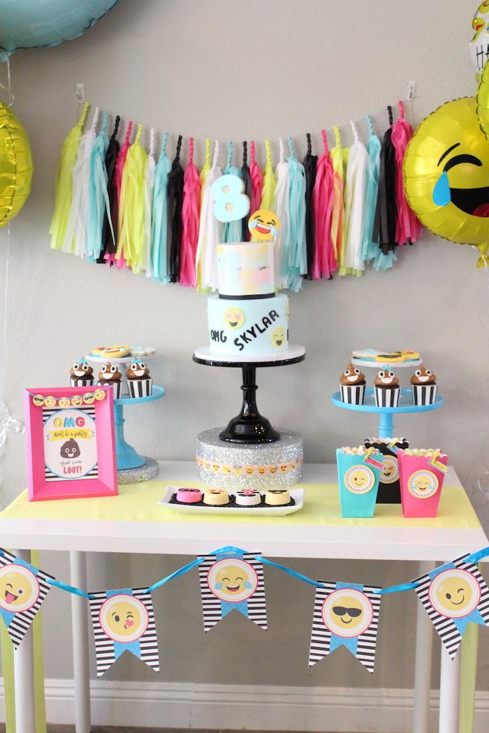 Emoji Birthday Party on Kara's Party Ideas | KarasPartyIdeas.com (10)