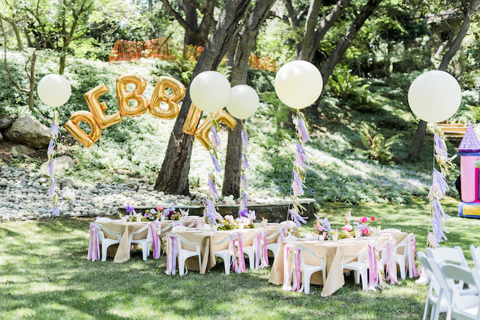 Enchanted Fairy Garden Birthday Party