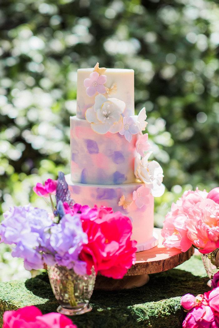 Kara S Party Ideas Enchanted Fairy Garden Birthday Party