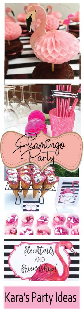 Flamingo Party Ideas via Kara's Party Ideas