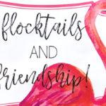 Flocktails and Friendship Flamingo Themed Ladies' Night on Kara's Party Ideas   KarasPartyIdeas.com (3)