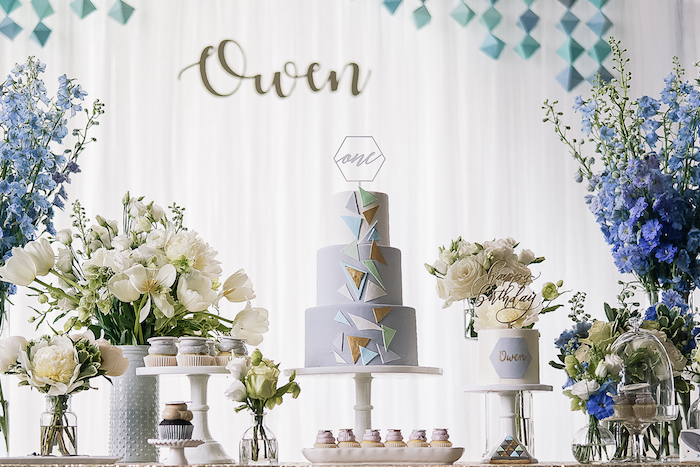 Geometric Fox Birthday Party on Kara's Party Ideas | KarasPartyIdeas.com (8)