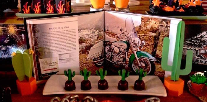 Harley Davidson Birthday Party on Kara's Party Ideas | KarasPartyIdeas.com (3)