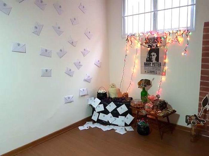 Owl Postal from a Hogwarts Harry Potter Birthday Party on Kara's Party Ideas | KarasPartyIdeas.com (8)