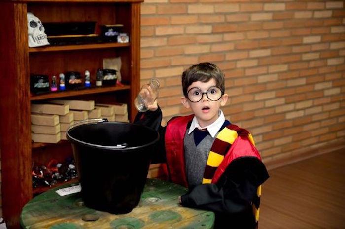 Potions class from a Hogwarts Harry Potter Birthday Party on Kara's Party Ideas   KarasPartyIdeas.com (7)