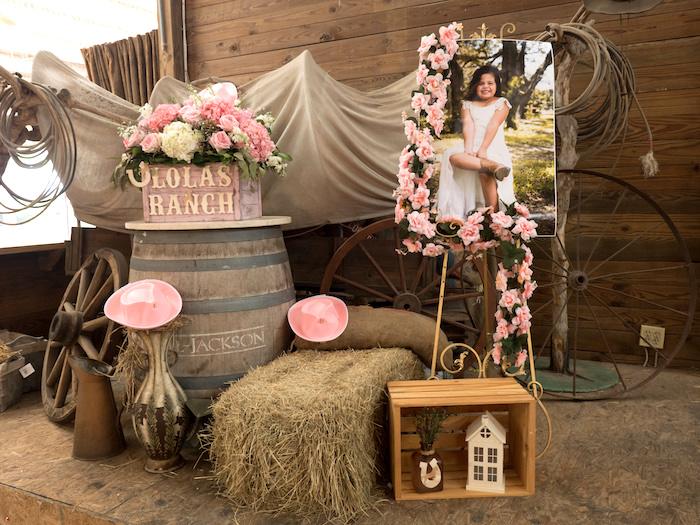 Horse Ranch Cowgirl Birthday Party on Kara's Party Ideas | KarasPartyIdeas.com (23)