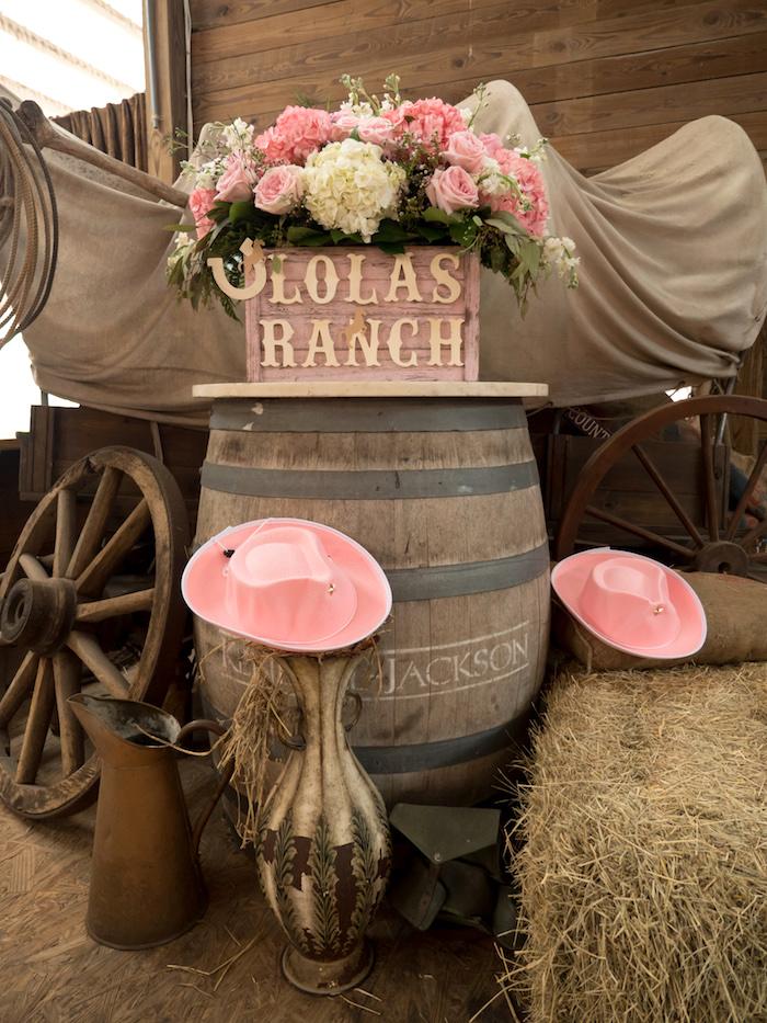 Horse Ranch Cowgirl Birthday Party on Kara's Party Ideas | KarasPartyIdeas.com (21)