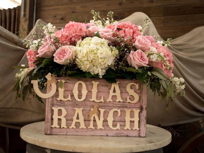 Horse Ranch Cowgirl Birthday Party on Kara's Party Ideas | KarasPartyIdeas.com (20)