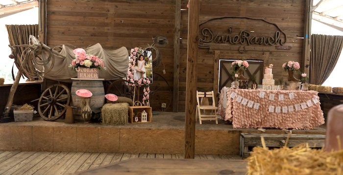 Horse Ranch Cowgirl Birthday Party on Kara's Party Ideas | KarasPartyIdeas.com (18)