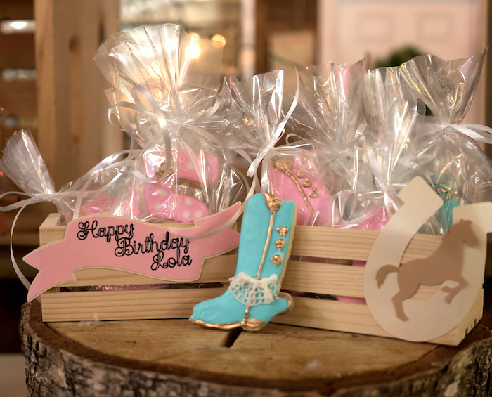 Horse Ranch Cowgirl Birthday Party on Kara's Party Ideas | KarasPartyIdeas.com (13)