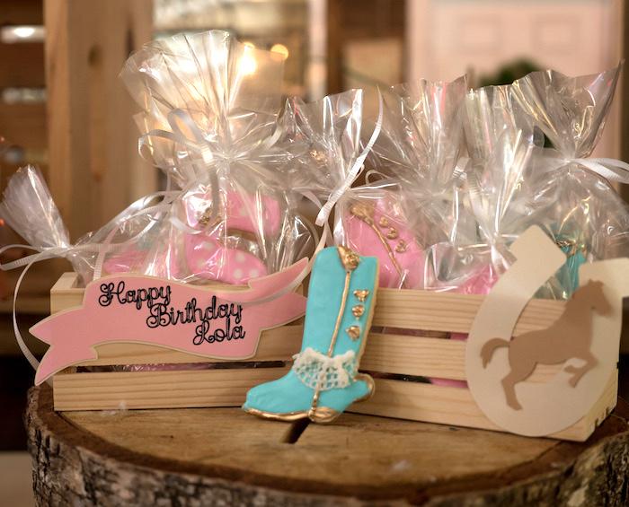 Horse Ranch Cowgirl Birthday Party on Kara's Party Ideas | KarasPartyIdeas.com (13)