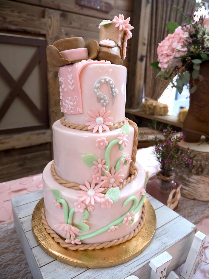 Horse Ranch Cowgirl Birthday Party on Kara's Party Ideas | KarasPartyIdeas.com (12)