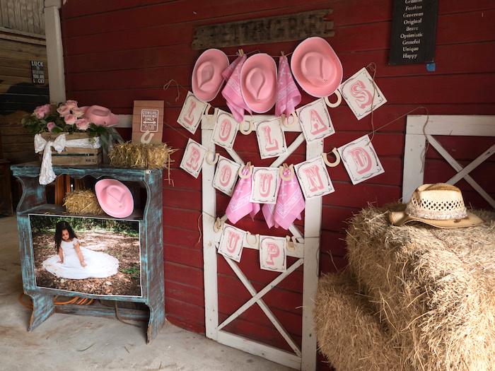 Horse Ranch Cowgirl Birthday Party on Kara's Party Ideas | KarasPartyIdeas.com (11)