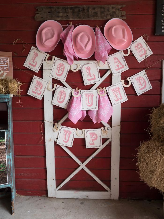 Horse Ranch Cowgirl Birthday Party on Kara's Party Ideas | KarasPartyIdeas.com (10)