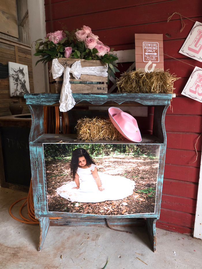 Horse Ranch Cowgirl Birthday Party on Kara's Party Ideas | KarasPartyIdeas.com (9)