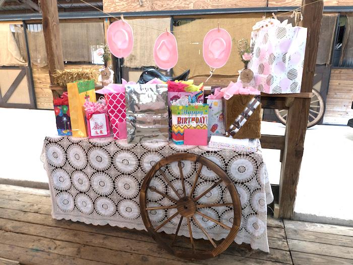 Horse Ranch Cowgirl Birthday Party on Kara's Party Ideas | KarasPartyIdeas.com (8)