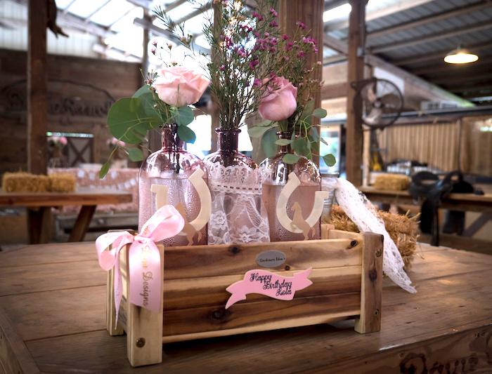 Horse Ranch Cowgirl Birthday Party on Kara's Party Ideas | KarasPartyIdeas.com (35)