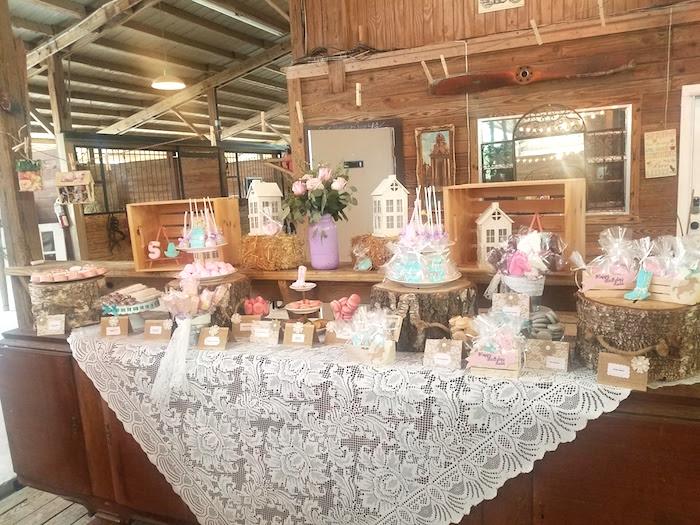 Horse Ranch Cowgirl Birthday Party on Kara's Party Ideas | KarasPartyIdeas.com (6)