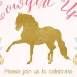 Horse Ranch Cowgirl Birthday Party on Kara's Party Ideas | KarasPartyIdeas.com (3)
