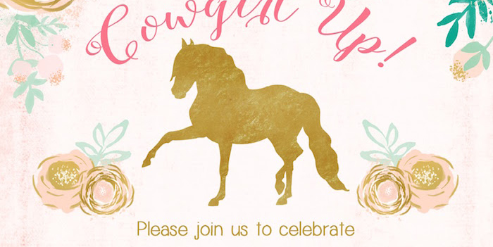 Horse Ranch Cowgirl Birthday Party on Kara's Party Ideas | KarasPartyIdeas.com (3)